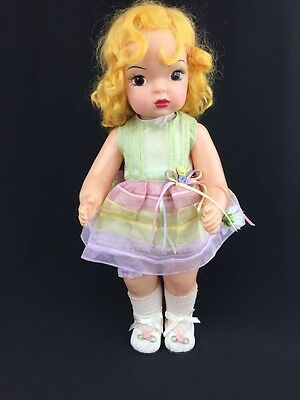 """2000 Terri Lee Chick Mohair Knickerbocker Limited Ed Reproduction 16"""""""