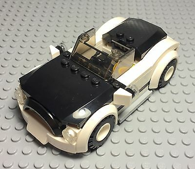 Lego Custom Mini Cooper / BMW Race Car / Roadster With Openable Trunk Tray Hood