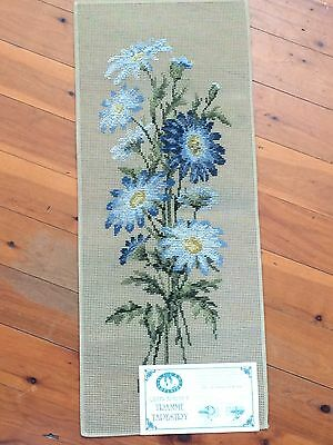 Queen Adelaide Tramme Tapestry Canvas No 164  - Flower Bunch