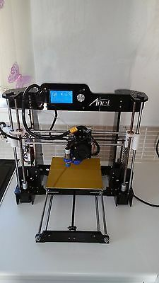 Anet A8-Hesine/omni 505-prusa i3-Anet A6 LCD12864 mount *MOD* 3d printing!