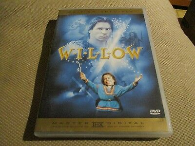 "RARE! DVD ""WILLOW"" Val KILMER / Ron HOWARD"
