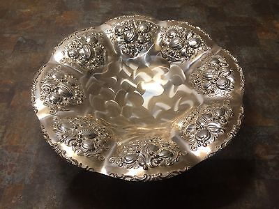 Vintage Silver Coloured Biscuit / Cookie Plate