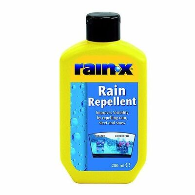 RainX Rain Repellent fluid for car bus truck van detailing wiper Ranin-X