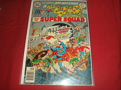 ALL-STAR COMICS #64 Justice Society Power Girl  DC Comics 1977 VG/FN