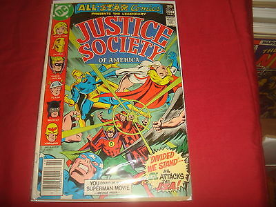 ALL-STAR COMICS #68 Justice Society Power Girl  DC Comics 1977 VG-