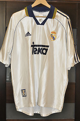 Real Madrid Spain 1998/1999/2000 Home Football Shirt Jersey Rare