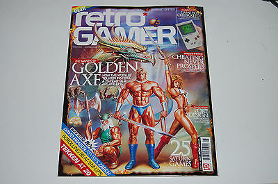 Revista Retro Gamer #128 Uk Version En Ingles Golden Axe