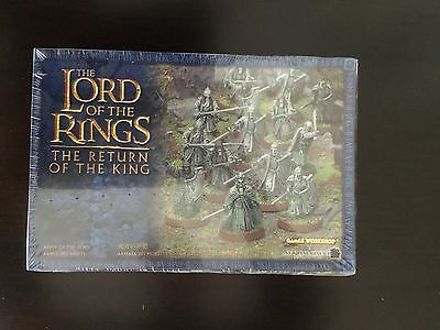 Warhammer Lord Of The Ring Games Workshop - Army Of The Dead - Box New - Metal