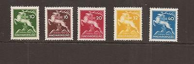 Hungary 1933 Scout Jamboree Mnh Set Of  Stamps