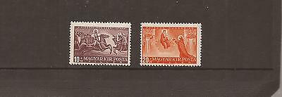 Hungary 1938 St Stephen Mnh Set Of  Stamps