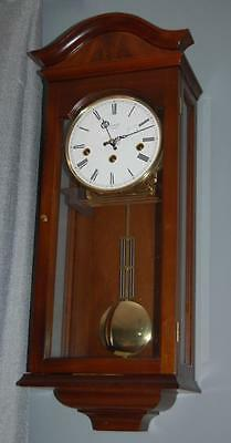 Comitti Westminster Chime Wall Clock, 8 Day Winding Movement, Glazed Case