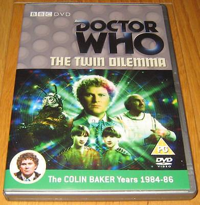 Doctor Who DVD - The Twin Dilemma (Excellent Condition)