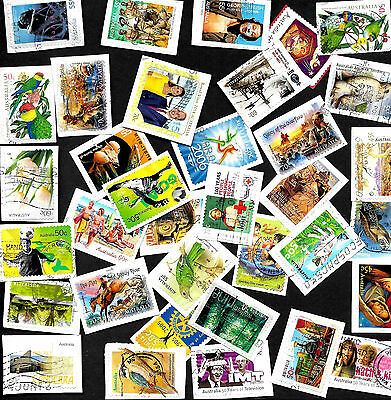 Over 100 Mixed Australian Commemoratives from Kiloware on paper to 2014 AU 17/01