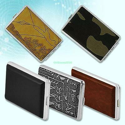 Cigars Cigarettes Tobacco Metal Case Holder Box Cover Pouch Container 3700440