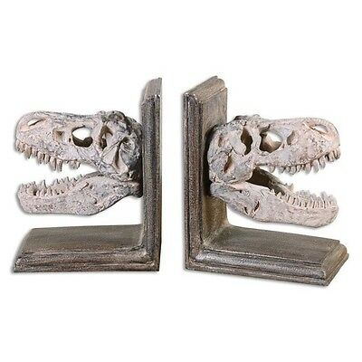 Uttermost Dinosaur Bookends (Set of 2)