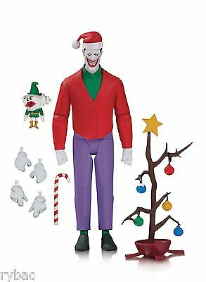 Batman Animated Series Christmas With The Joker Action Figure - New/unopened