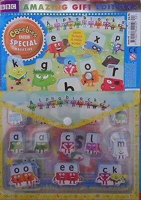 BBC CBeebies comic magazine Special #92 2016 + Alphablocks