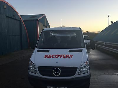 mercedes sprinter recovery truck 2012