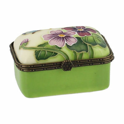 Old Tupton Ware  Primrose & Butterfly Trinket Box in gift box