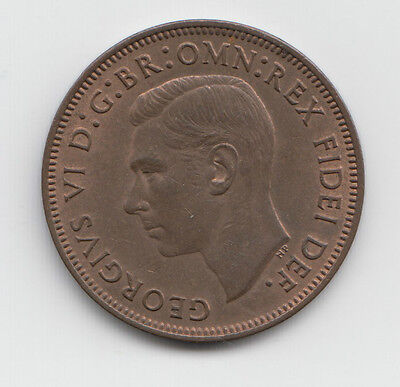 George VI Half penny choice of date 1937-1952