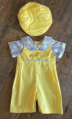 SALE Couche tot Baby Boys Spanish / Romany Outfit Perfect For Easter BNWT 9-12