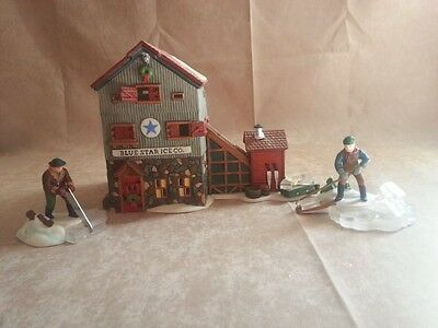 """Dept 56 """"Blue Star Ice Company"""" - Retired 1997 Excellent condition"""