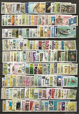 l'afrique (commonwealth) 500  timbres differents