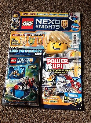 Lego NEXO KNIGHTS Magazine ISSUE 2  LANCES hover horse toy