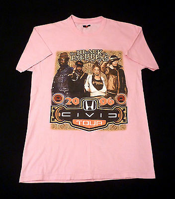 Black Eyed Peas Concert Shirt From 2006 Civic Tour Pink Sized Medium