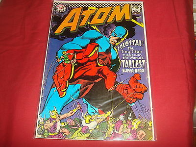 THE ATOM #32 Silver Age DC Comics 1967  VG/FN