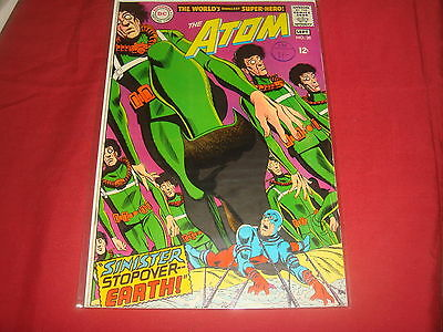 THE ATOM #38 Silver Age DC Comics 1967  FN/VF