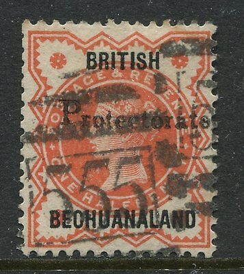British Bechuanaland 1888 1/2d vermilion overprinted also Protectorate used