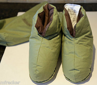 Foot Duvets Slippers By Restoration Hardware OS 5-7 Womens