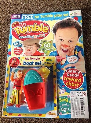 CBeebies Mr Tumble Something Special Magazine #71 - FREE Mr Tumble PLAYSET!
