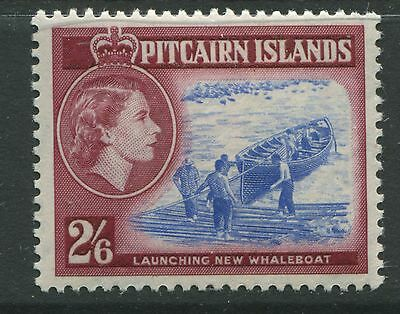 Pitcairn Island 1957 QEII 2/6d unmounted mint NH