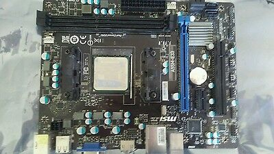 A55M-E33 Motherboard with AMD A4-6300 CPU for PC