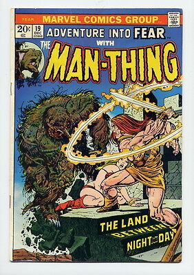 Adventure Into Fear #19 First Howard The Duck Last Man-Thing Key