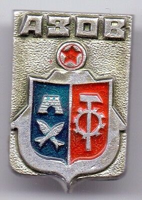 Russische Sowjet Pin Badge AZOV
