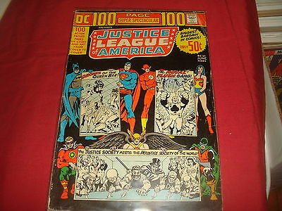 DC 100 PAGE SUPER SPECTACULAR DC-17 Justice League Of America DC Comics 1973 VG
