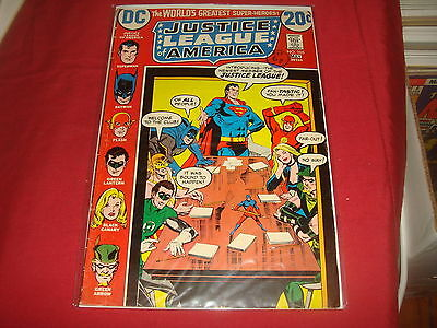 JUSTICE LEAGUE OF AMERICA #105   DC Comics 1973 VG/FN