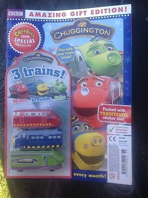 CBeebies Special Magazine CHUGGINGTON (BRAND NEW COPY) FREE TOYS