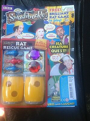 CBeebies Swashbuckle Magazine #14 - FREE RAT RESCUE GAME! (BRAND NEW)