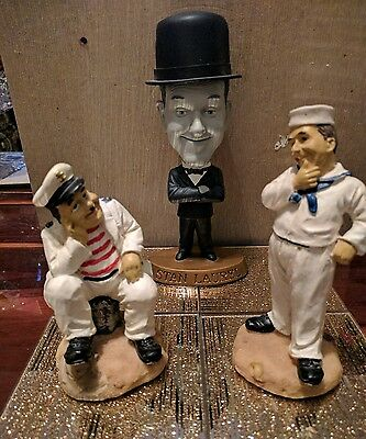 Laurel hardy collectables figures