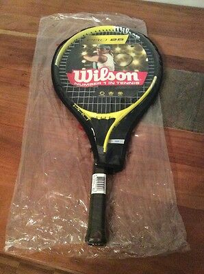 Wilson Junior Tennis Racket With Cover - Pro 25 - New
