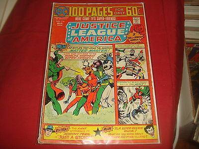 JUSTICE LEAGUE OF AMERICA #116 100 Page Super Spectacular   DC Comics 1975 VG
