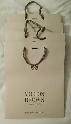 Molton Brown gift bags x 4. New.