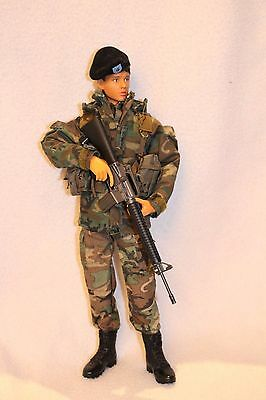 1/6 Amy US Army National Guard. Female action figure soldier