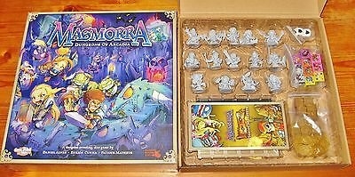 MASMORRA: DUNGEONS OF ARCADIA QUEST KICKSTARTER w/EXCLUSIVES NEW/SHIPS FREE/NOW