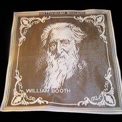 Salvation Army - NOTTINGHAM ENGLISH LACE - WILLIAM BOOTH