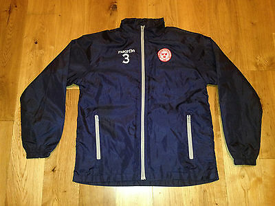 Shelbourne FC League Of Ireland Football Jacket Player issue